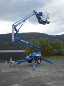 Man lift hire services