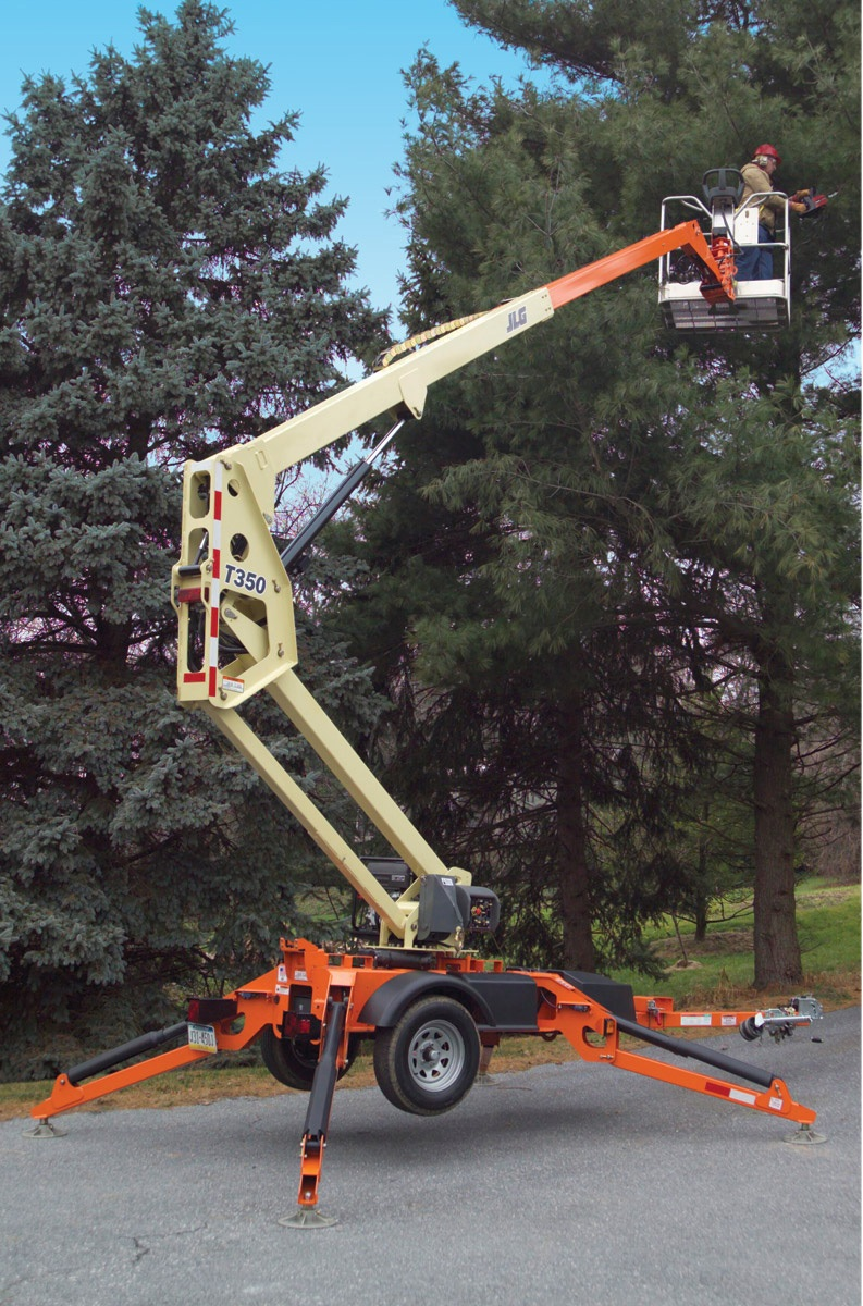Trailer Mounted Manlifts